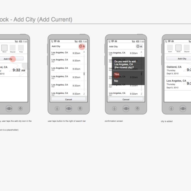 Qualcomm Native Smartphone App Design & Testing